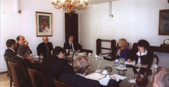WV Latin America at the Argentinian Central Bank 2001