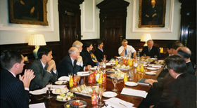 WV London lunch with Barclays Group Chairman