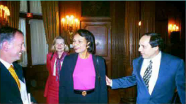 Condoleezza Rice at a WV Washington Event