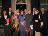 WV Delegation at 10 Downing Street