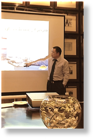 Presentation by China Merchants Group's Ray Feng